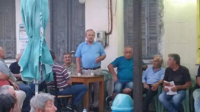 ΚΟ Φυτειών του ΚΚΕ: Πραγματοποιήθηκε η Περιοδεία στις Φυτείες και η Συγκέντρωση στη Παπαδάτου Ξηρομέρου, όπου μίλησε ο Νίκος Μωραΐτης, βουλευτής ΚΚΕ - Φωτογραφία 2