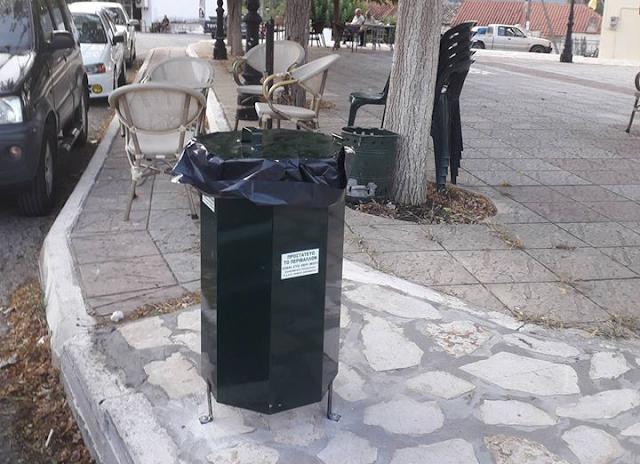 Τοποθέτησε κάδους απορριμάτων η ΚΟΙΝΩΦΕΛΗΣ ΕΠΙΧΕΙΡΗΣΗ Δήμου Ξηρομέρου, στα πλαίσια περιβαλλοντικών δράσεων - Φωτογραφία 3