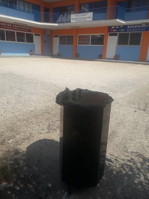 Τοποθέτησε κάδους απορριμάτων η ΚΟΙΝΩΦΕΛΗΣ ΕΠΙΧΕΙΡΗΣΗ Δήμου Ξηρομέρου, στα πλαίσια περιβαλλοντικών δράσεων - Φωτογραφία 4