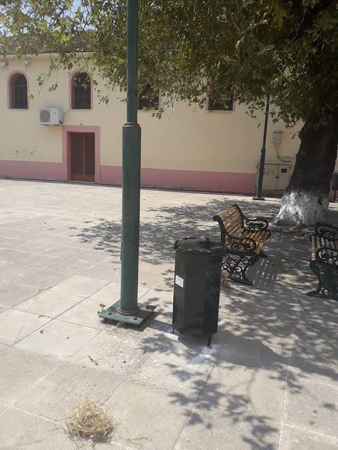 Τοποθέτησε κάδους απορριμάτων η ΚΟΙΝΩΦΕΛΗΣ ΕΠΙΧΕΙΡΗΣΗ Δήμου Ξηρομέρου, στα πλαίσια περιβαλλοντικών δράσεων - Φωτογραφία 7