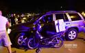 Τροχαίο ατύχημα στο Ναύπλιο - ΙΧ αυτοκίνητο συγκρούστηκε με δίκυκλο μηχανάκι delivery.
