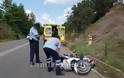 Λαμία: Τροχαίο με μηχανάκι - Τον έσωσε το κράνος - Φωτογραφία 10