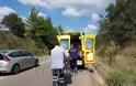 Λαμία: Τροχαίο με μηχανάκι - Τον έσωσε το κράνος - Φωτογραφία 5