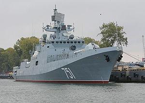 Στον Πόρο η φρεγάτα Admiral Essen για τα 190 χρόνια ελληνορωσικών σχέσεων - Φωτογραφία 1