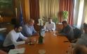 Συνάντηση βουλευτή Πέλλας Γιάννη Σηφάκη με τον νέο Υπουργό Αγροτικής Ανάπτυξης Σταύρο Αραχωβίτη