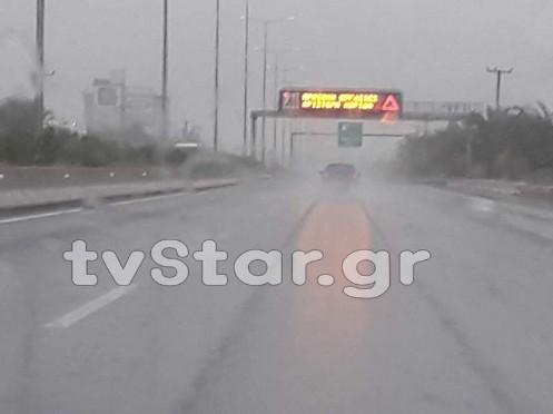 Βροχές και καταιγίδες έφερε ο Ζορμπάς στη Βοιωτία [video] - Φωτογραφία 1