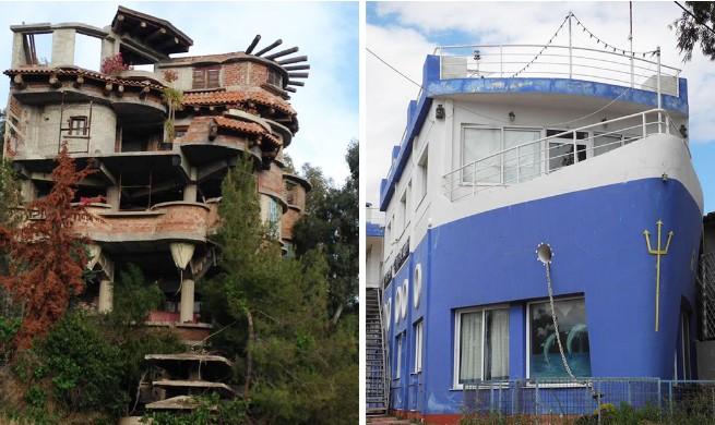 ΑΘΑΝΑΤΗ ΕΛΛΑΔΑ - 40 εξωφρενικές αυθαίρετες κατασκευές που βρίσκονται φυσικά στην Ελλάδα [photos] - Φωτογραφία 1