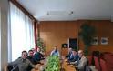Εθιμοτυπική επίσκεψη του Δ.Σ. της Ι.Ρ.Α. Τρικάλων στον Αντιπεριφερειάρχη Τρικάλων Χρήστο Μιχαλάκη