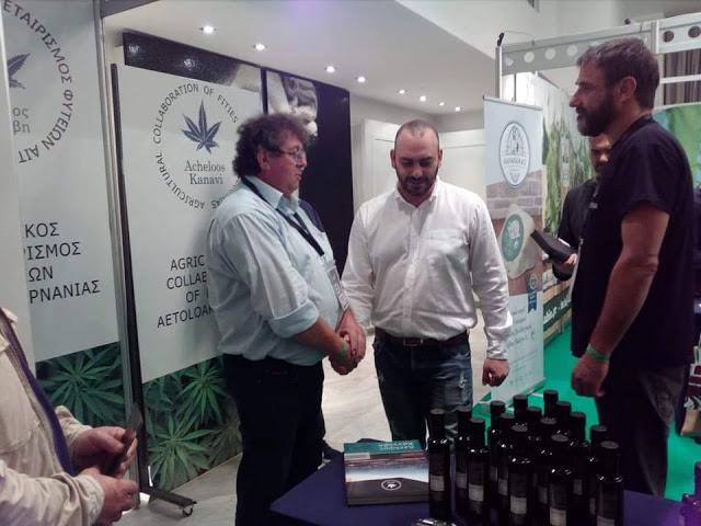 Ο Aγροτικός Συνεταιρισμός Φυτειών συμμετείχε στην Εκθεση κάνναβης στην Θεσσαλονίκη | ΦΩΤΟ - Φωτογραφία 5