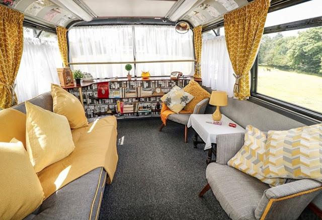 Μετέτρεψαν σε... ξενοδοχείο διώροφο λεωφορείο του Λονδίνου! - Φωτογραφία 2