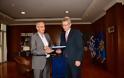 ΑΝΥΕΘΑ : Συνάντηση κορυφής με τον Πρέσβη των ΗΠΑ Τζέφρι Πάϊατ - ΕΙΚΟΝΕΣ - Φωτογραφία 5