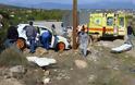 Τροχαίο με αγωνιστικό αυτοκίνητο στη Ριτσώνα - Στο νοσοκομείο 47χρονος θεατής! (ΦΩΤΟ)