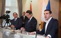 Τριμερής Σύνοδος Κορυφής Ελλάδας - Κύπρου - Αιγύπτου στην Ελούντα