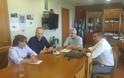 Συναντήθηκαν με Αναγνωστάκη και Τσιριγώτη οι Συνοριακοί Θεσσαλονίκης