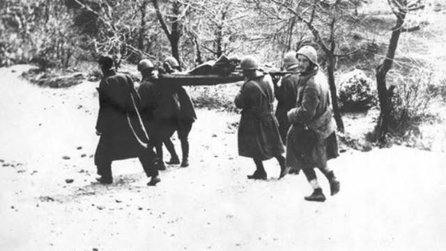 Κλεισούρα: Ενταφιάζονται 573 Έλληνες πεσόντες στον Ελληνο-Ιταλικό πόλεμο - Φωτογραφία 1