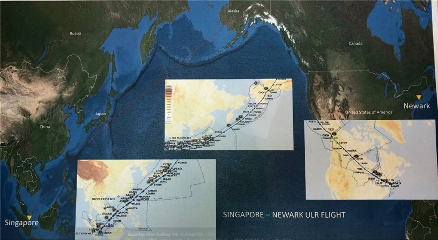 Σιγκαπούρη - Νέα Υόρκη σε... 19 ώρες: Απογειώθηκε το Airbus της μεγαλύτερης πτήσης στον κόσμο - Φωτογραφία 2