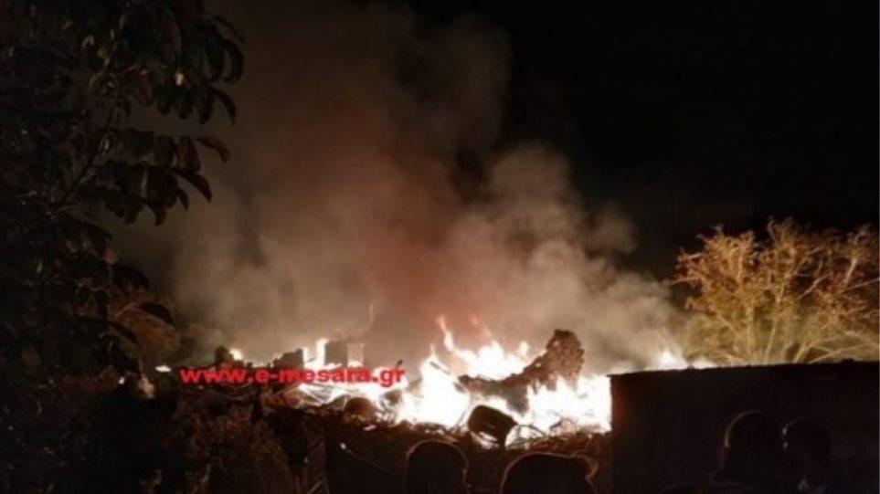 Κρήτη: Δεν έμεινε τίποτε όρθιο από την έκρηξη στο ρακοκάζανο - Φωτογραφία 1