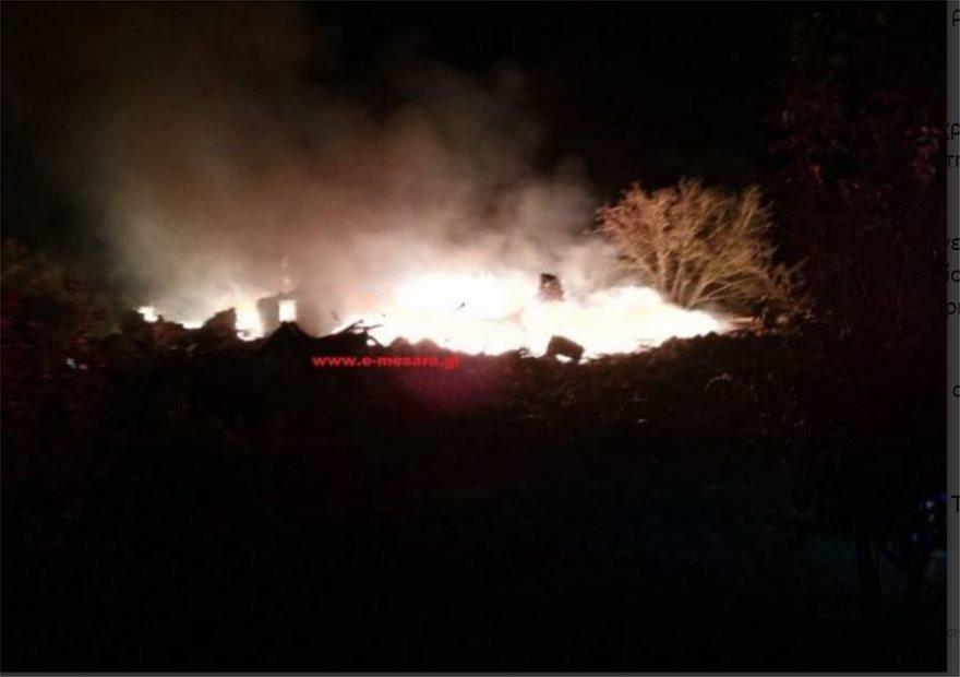 Κρήτη: Δεν έμεινε τίποτε όρθιο από την έκρηξη στο ρακοκάζανο - Φωτογραφία 3