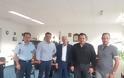 Τους αστυνομικούς του αεροδρομίου επισκέφθηκε αντιπροσωπεία της ΑΝ.Α.Σ.Α.