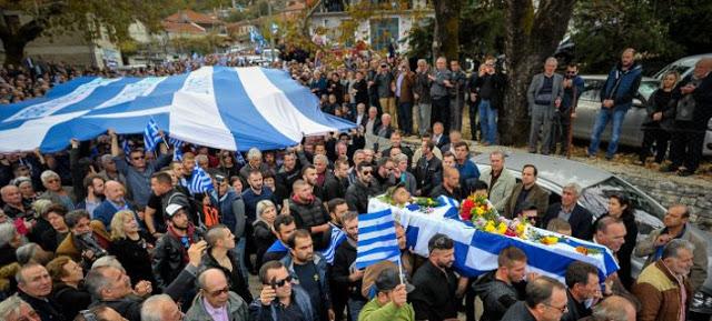 «Σήκω Κωστάκη γιε μου...». Το «τελευταίο αντίο» των Ελλήνων στον Κωνσταντίνο Κατσίφα !! [Εικόνες-Βίντεο] - Φωτογραφία 1