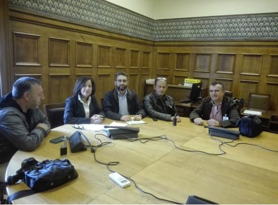 Δ.Ε.Κ.Α: Συνάντηση με Π. Κοζομπόλη, υπεύθυνη Κ.Ο. του ΣΥΡΙΖΑ για τα Σώματα Ασφαλείας - Φωτογραφία 1