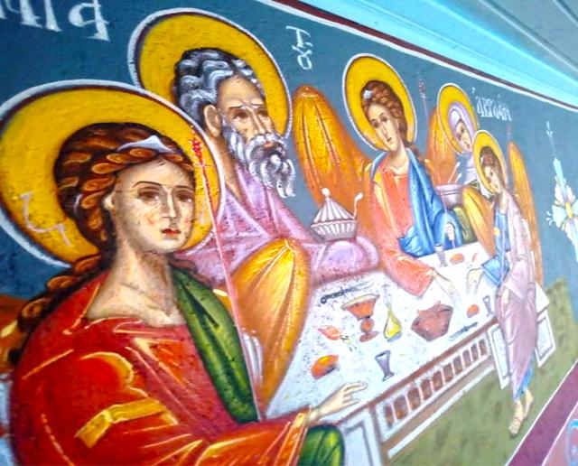 Αγιογραφείται ο Ι.Ν. Αγίου Ιεροθέου στην Κομπωτή Ξηρομέρου δια χειρός Βασίλη Παλούκη: Ένα σπουδαίο έργο σε εξέλιξη! - Φωτογραφία 1