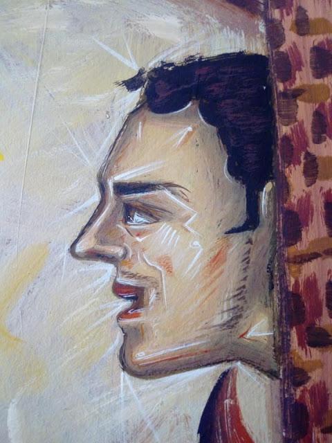 Αγιογραφείται ο Ι.Ν. Αγίου Ιεροθέου στην Κομπωτή Ξηρομέρου δια χειρός Βασίλη Παλούκη: Ένα σπουδαίο έργο σε εξέλιξη! - Φωτογραφία 10
