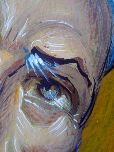 Αγιογραφείται ο Ι.Ν. Αγίου Ιεροθέου στην Κομπωτή Ξηρομέρου δια χειρός Βασίλη Παλούκη: Ένα σπουδαίο έργο σε εξέλιξη! - Φωτογραφία 16
