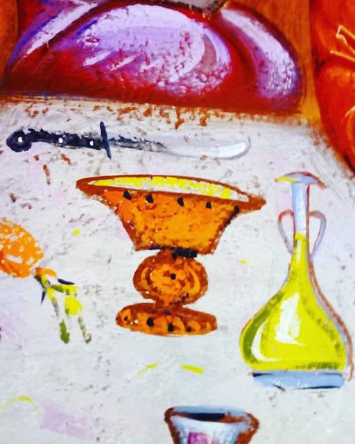 Αγιογραφείται ο Ι.Ν. Αγίου Ιεροθέου στην Κομπωτή Ξηρομέρου δια χειρός Βασίλη Παλούκη: Ένα σπουδαίο έργο σε εξέλιξη! - Φωτογραφία 25