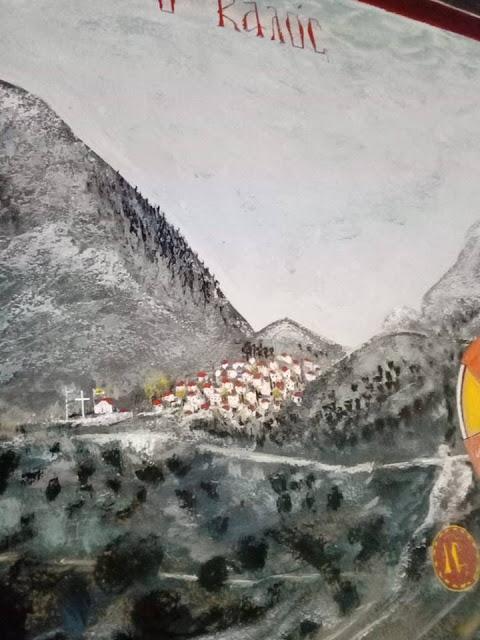 Αγιογραφείται ο Ι.Ν. Αγίου Ιεροθέου στην Κομπωτή Ξηρομέρου δια χειρός Βασίλη Παλούκη: Ένα σπουδαίο έργο σε εξέλιξη! - Φωτογραφία 30
