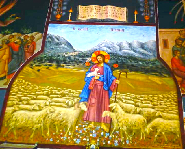 Αγιογραφείται ο Ι.Ν. Αγίου Ιεροθέου στην Κομπωτή Ξηρομέρου δια χειρός Βασίλη Παλούκη: Ένα σπουδαίο έργο σε εξέλιξη! - Φωτογραφία 5