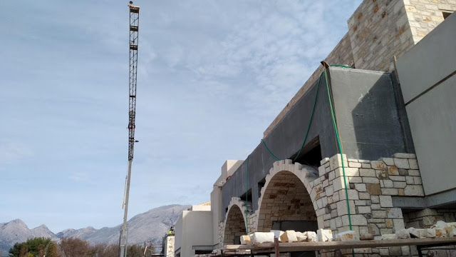 Προχωρούν οι εργασίες κατασκευής του νέου 5άστερου ξενοδοχείου στον ΜΥΤΙΚΑ | ΦΩΤΟ - Φωτογραφία 50