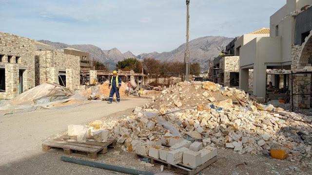 Προχωρούν οι εργασίες κατασκευής του νέου 5άστερου ξενοδοχείου στον ΜΥΤΙΚΑ | ΦΩΤΟ - Φωτογραφία 51