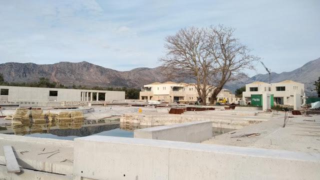 Προχωρούν οι εργασίες κατασκευής του νέου 5άστερου ξενοδοχείου στον ΜΥΤΙΚΑ | ΦΩΤΟ - Φωτογραφία 57