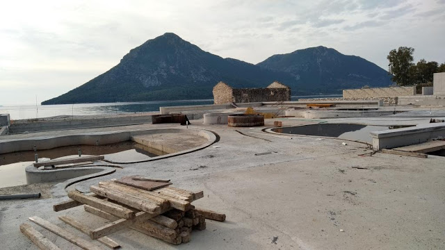 Προχωρούν οι εργασίες κατασκευής του νέου 5άστερου ξενοδοχείου στον ΜΥΤΙΚΑ   ΦΩΤΟ - Φωτογραφία 63