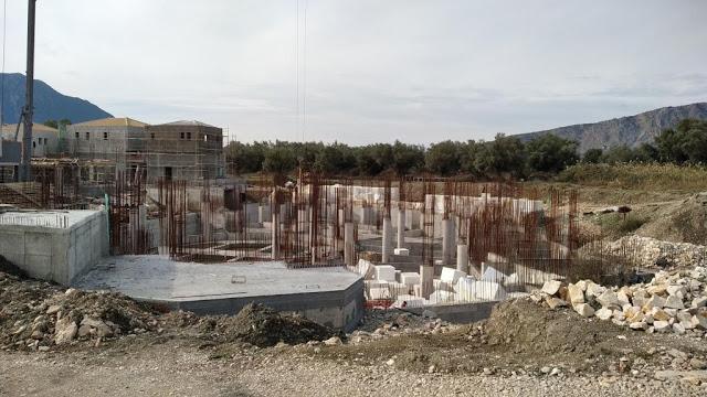 Προχωρούν οι εργασίες κατασκευής του νέου 5άστερου ξενοδοχείου στον ΜΥΤΙΚΑ | ΦΩΤΟ - Φωτογραφία 84