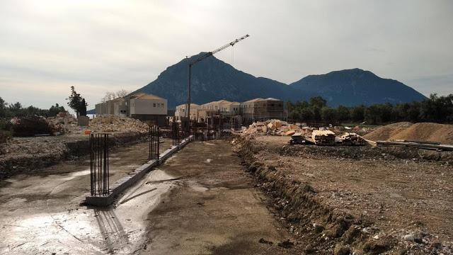 Προχωρούν οι εργασίες κατασκευής του νέου 5άστερου ξενοδοχείου στον ΜΥΤΙΚΑ | ΦΩΤΟ - Φωτογραφία 86