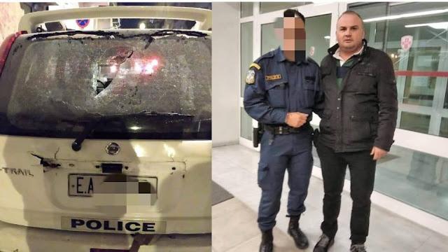 Ένωση Αστυνομικών για επίθεση στο σπίτι του Φλαμπουράρη: Άνανδρη επίθεση, τραυματίστηκε συνάδελφός μας - Φωτογραφία 1