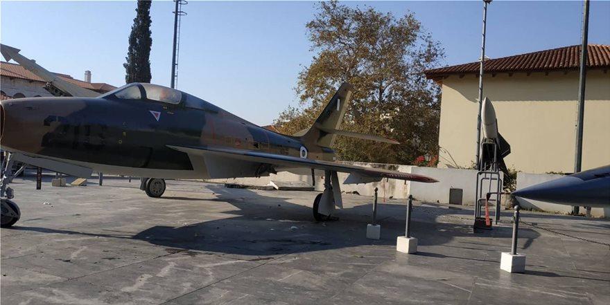 Ένα ιστορικό F-84F Thunderstreak το χριστουγεννιάτικο δώρο της Πολεμικής Αεροπορίας προς το Πολεμικό Μουσείο - Φωτογραφία 4
