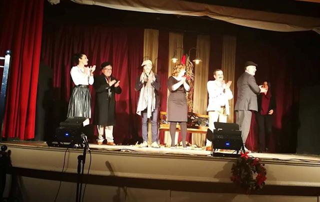 ΑΜΦΙΚΤΙΟΝΙΑ ΑΚΑΡΝΑΝΩΝ: Γοήτευσε η θεατρική ομάδα «Θεάτρου Πορεία» του Ν.Π. ΟΤΟΕ Πρέβεζας στην παράσταση Τρία μονόπρακτα - Φωτογραφία 11