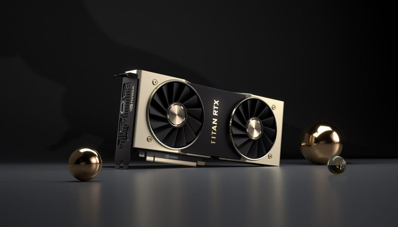 Nvidia Titan RTX: Επίσημα η πανίσχυρη κάρτα γραφικών - Φωτογραφία 1