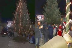 Άναψε το Χριστουγεννιάτικο δένδρο στο ΘΥΡΡΕΙΟ | ΦΩΤΟ