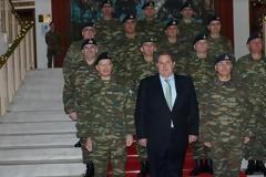 Επίσκεψη ΥΕΘΑ Πάνου Καμμένου στην 1η Στρατιά, το Αρχηγείο Τακτικής Αεροπορίας και την 110 Πτέρυγα Μάχης