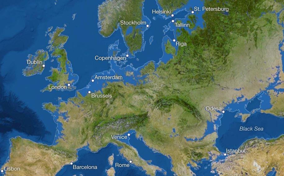 National Geographic: Πώς θα ήταν ο κόσμος αν έλιωναν όλοι οι πάγοι – Τι θα γινόταν στην Ελλάδα (χάρτες) - Φωτογραφία 3