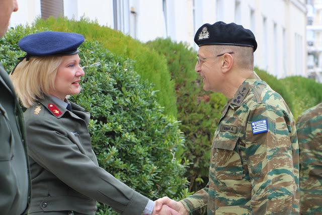 Επισκέψεις Αρχηγού ΓΕΣ σε Σχηματισμούς και Υπηρεσίες του Στρατού Ξηράς στη Θεσσαλία για Ανταλλαγή Ευχών - Φωτογραφία 1