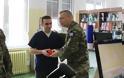 Επισκέψεις Αρχηγού ΓΕΣ σε Σχηματισμούς και Υπηρεσίες του Στρατού Ξηράς στη Θεσσαλία για Ανταλλαγή Ευχών - Φωτογραφία 12