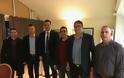 Συνάντηση της Ένωσης Στρατιωτικών Βόλου Μαγνησίας με τον Βασίλη Κικίλια