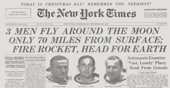 50 χρόνια από τα πρώτα Χριστούγεννα στο διάστημα - Φωτογραφία 2
