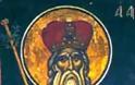 Ταῖς τῶν σῶν Ἁγίων θείαις πρεσβείαις, Χριστέ ὁ Θεός, ἐλέησον καί σῶσον ἡμᾶς