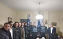 Ευχές και δώρα στους αστυνομικούς από την ΙΡΑ Τρικάλων